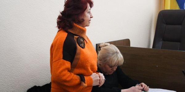 Капустян выступила против видеосъемки суда по отмене решения её звания Почетный гражданин Кременчугского района