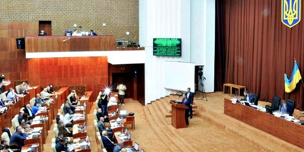 Полтавский облсовет поддержал блокаду торговли с террористами в Луганской и Донецкой областях