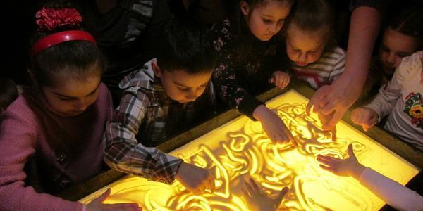 В Кременчуге открывается Школа рисования песком