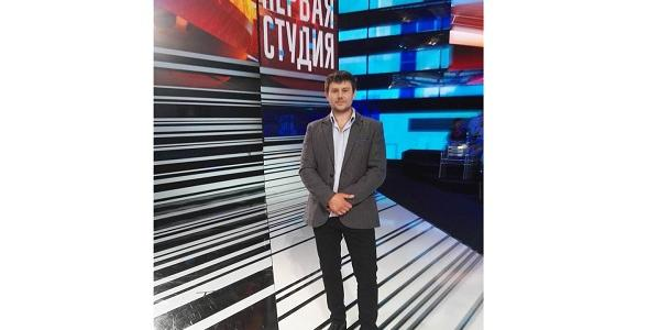 Кременчужанин Климчук снова в Москве выступил на телеканале, защищая позицию Украины
