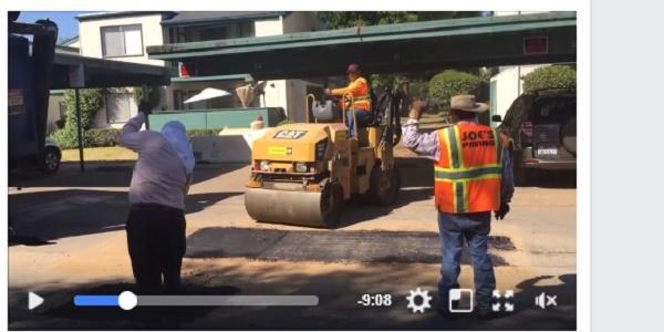 Піддубна показала відео якісного ремонту доріг в Америці, дорікнувши кременчуцьким «ремонтникам»