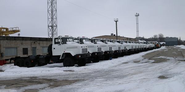«КрАЗ» поставил нефтяникам Туркменистана свою технику