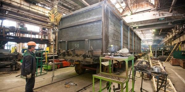 Крюковский вагонзавод в январе-ноябре увеличил выпуск грузовых вагонов в 3,7 раза