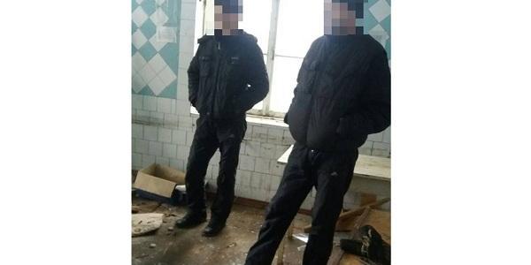 В Кременчуге патрульные задержали «металлистов» и «кабелистов»