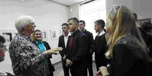 Арламова прислала до Кременчука німецьку художницю