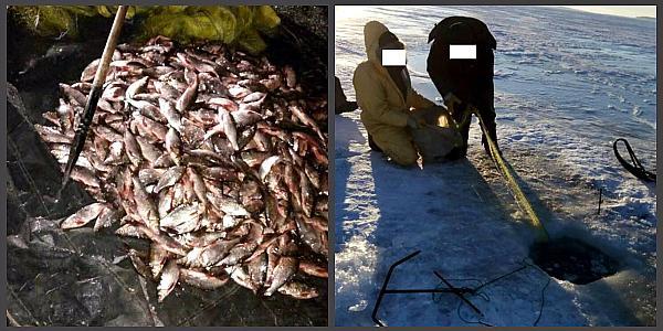На Кременчугском море двое рыбаков «поймали» 153 тысячи штрафа