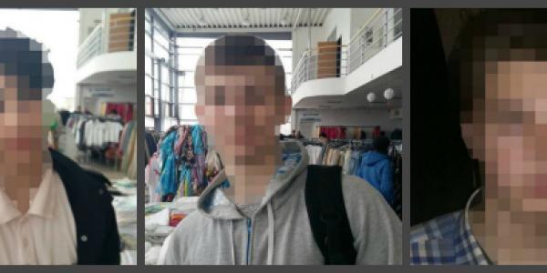 Кременчугских подростков заподозрили в краже футболок из магазина