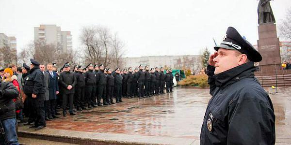 Годовщину работы патрульной полиции в Кременчуге отметят торжественным собранием и концертом