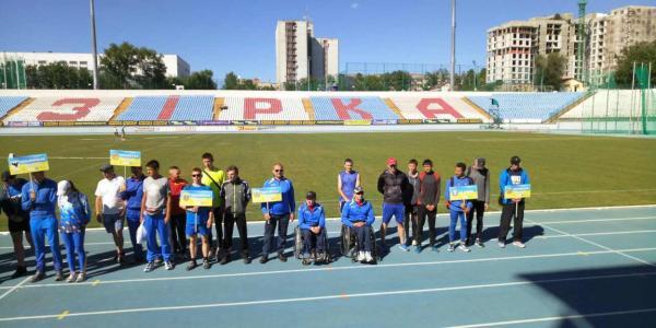 Кременчугские параолимпийцы установили новые рекорды Украины и Полтавской области