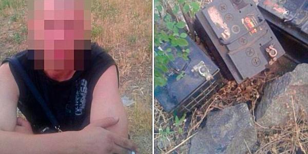 Кременчуцькі патрульні затримали крадія автоакумулятора до того, як господар автівки дізнався про його зникнення