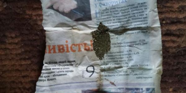 В Кременчугском районе изъят килограмм наркотиков