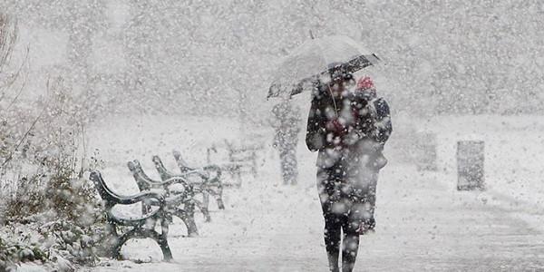 В пятницу Кременчуг может засыпать снегом