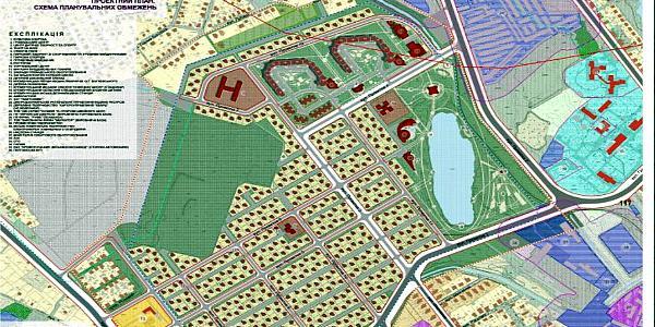 В горисполкоме определились с названиями проектных улиц в микрорайоне «Озерный»