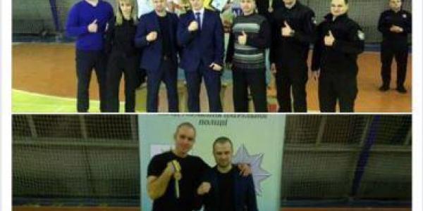 Патрульный из Кременчуга стал призером Всеукраинского турнира по армспорту