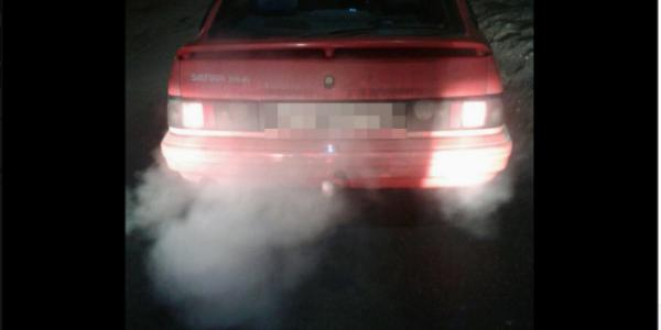 В Кременчуге обнаружен автомобиль со странными номерами