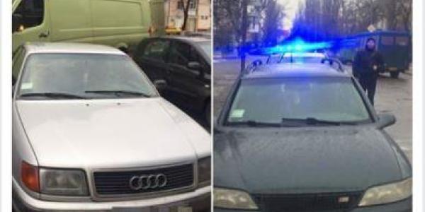 В Кременчуге патрульные задержали два авто с «проблемными» документами