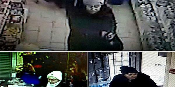 Кременчугская полиция опубликовала фото местных карманниц