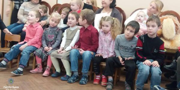 В День Святого Николая, патрульные посетили Центр ранней социальной реабилитации детей-инвалидов