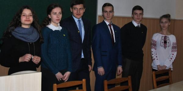 Кременчугский лицеист стал лидером облсовета старшеклассников