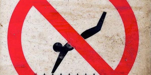В Кременчугские водоемы санврачи рекомендуют пока НЕ нырять