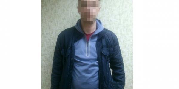 Мужчина, задержанный по краже в магазине на Гвардейской, имел ранее проблемы с законом