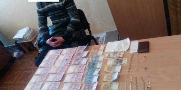 Кременчужанин за два дня спустил 25 тысяч наворованных гривень
