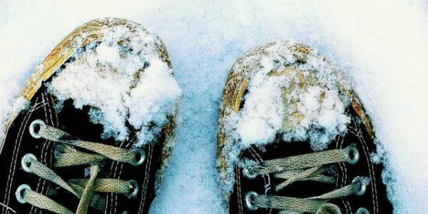 В Кременчуге парень отморозил себе стопы