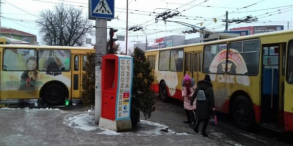 В Кременчуці виникли технічні проблемі із рухом тролейбусів за трьома маршрутами (доповнено)