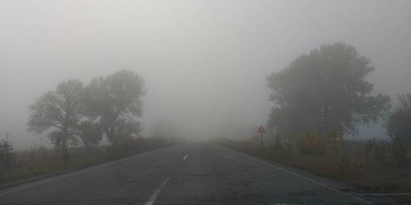 Вниманию водителей: по дороге на Полтаву – густой туман