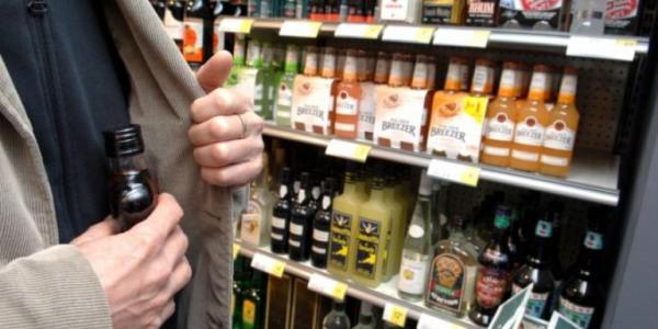 Кременчужанин заплатит штраф за пристрастие к дорогому алкоголю