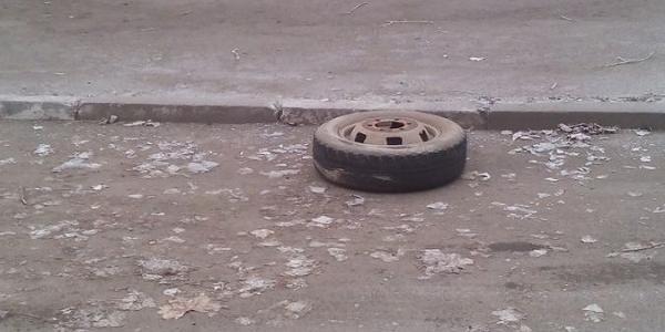 У міжміської маршрутки «Полтава- Київ» на ходу відвалилось колесо