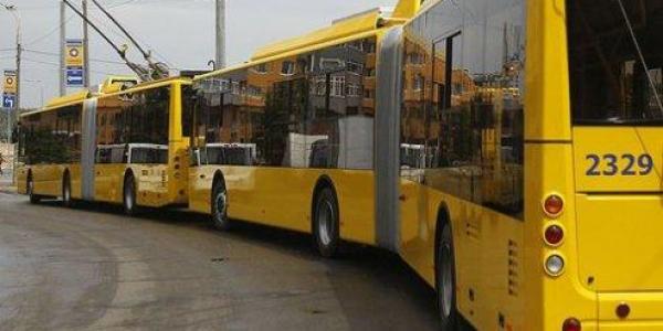 Троллейбус №3 временно прекратил движение в центре Кременчуга