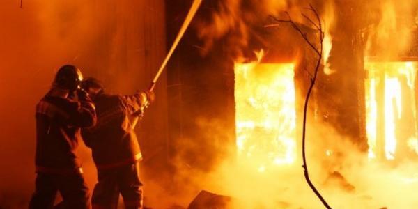 Під Кременчуком горіла лазня – постраждала людина