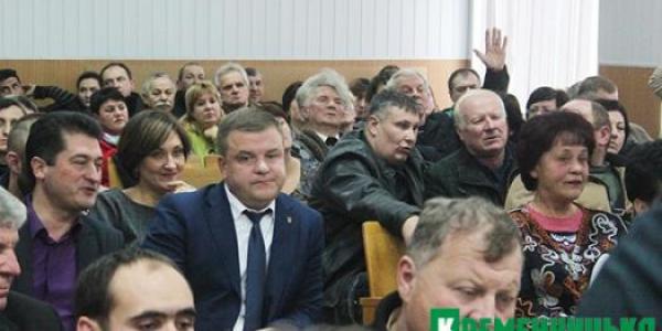 Что ставят депутаты Кременчугского райсовета в вину Андрею Безкоровайному