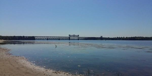 На Центральному пляжі та у парку «Кагамлицький» допустимий рівень забруднення води перевищений у 24 рази