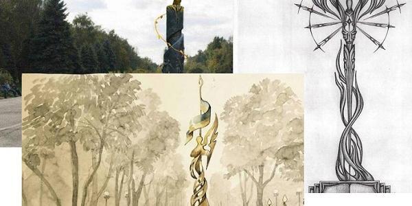 У ескізних проектах майбутнього меморіалу Героям АТО у Кременчуці – лідирують янголи