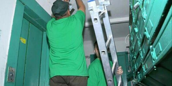 В домах управляющей компании «Місто для людей. Кременчук» начались масштабные работы по текущим ремонтам