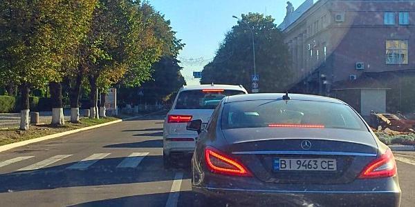 Вниманию водителей: по Соборной наблюдается затор