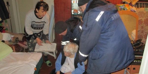 Кременчуцькі рятувальники допомогли 80-річній бабусі