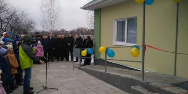 У селі під Кременчуком відкрили нову амбулаторію
