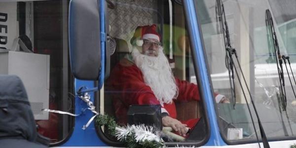 Шари не буде: на Різдвяні свята кременчужан в тролейбусах безкоштовно не возитимуть