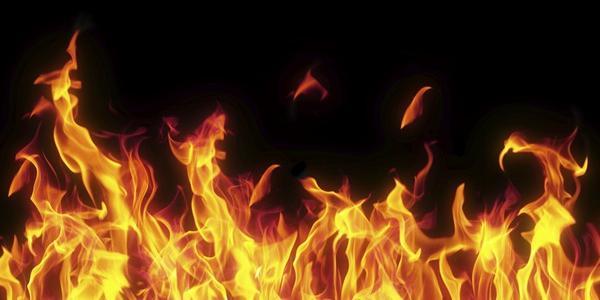 У Кременчуцькому будинку на пожежі в житловому будинку заживо згорів чоловік