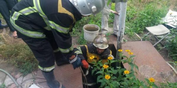Під Кременчуком 74-річний пенсіонер помер у ямі завглибшки 2 метри