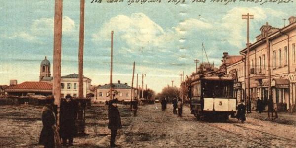 І сто років тому у Кременчуці були проблеми із зупинками