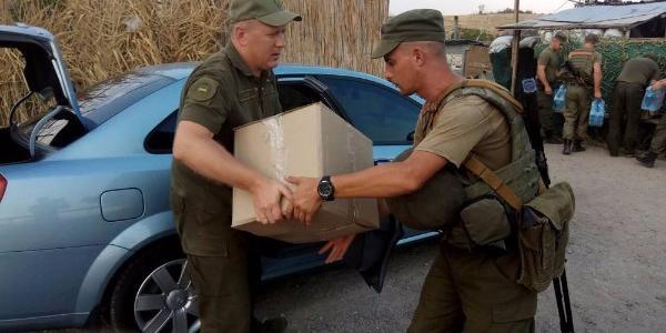 Підприємства Кременчука відправили подарунки бійцям, що несуть службу в зоні АТО