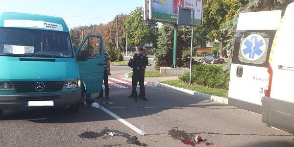 В районі ПК КрАЗ автомобіль збив бабусю