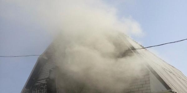 Сьогодні в Крюкові згоріла лазня
