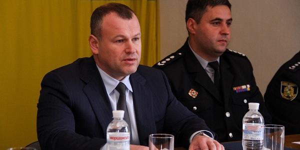 Екс-керівника Кременчуцької поліції офіційно представили особовому складу харківської поліції