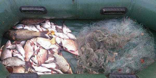 Рибохоронний патруль затримав кременчужанина у Малій Кохнівці за браконьєрство