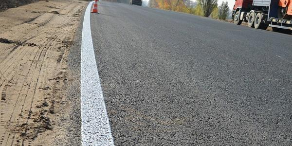 Автодорогу під Кременчуком оздоблять дорожньою розміткою з холодного пластику